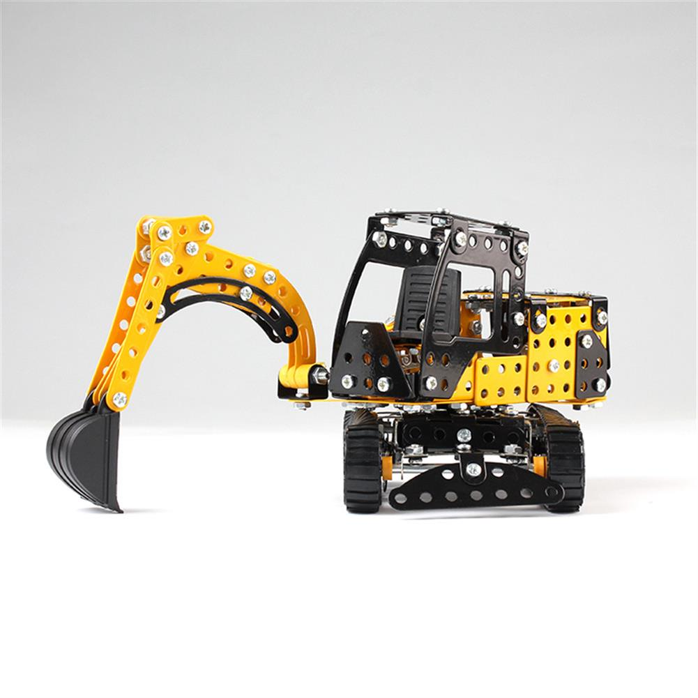 model-building MoFun 3D Metal Puzzle Construction Truck Stainless Steel Model Building Toy 351PCS HOB1313235 3