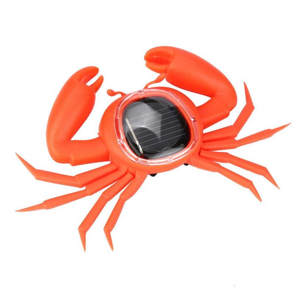 solar-powered-toys Solar Powered Toy Learning Educational Creative Mini Running Crab Animal Gift HOB1314678 1