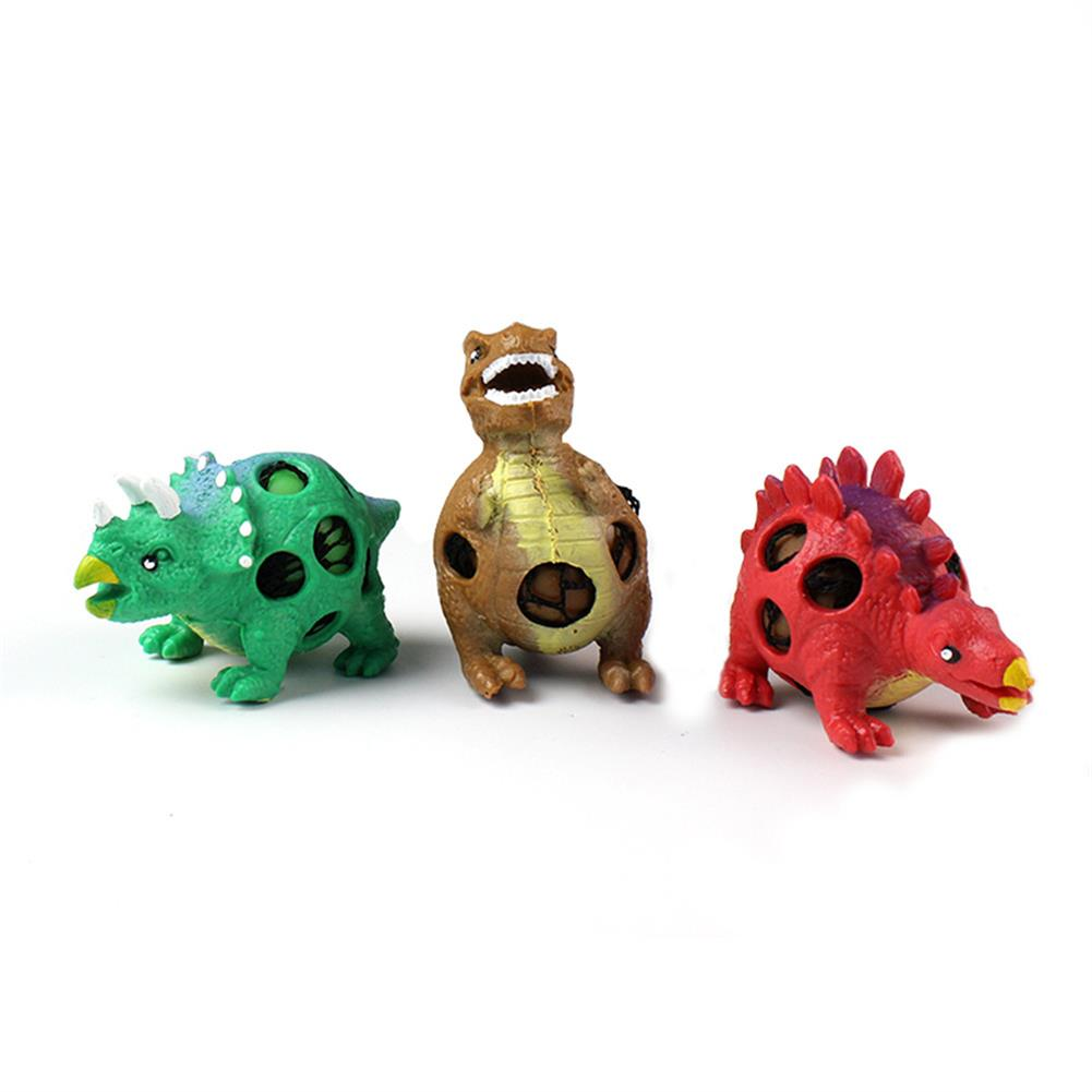 stress-relievers 1PC TPR Squishy Dinosaur Jurassic Dinosaurs Squeeze Toy Gift Collection Stress Reliever HOB1316106 1