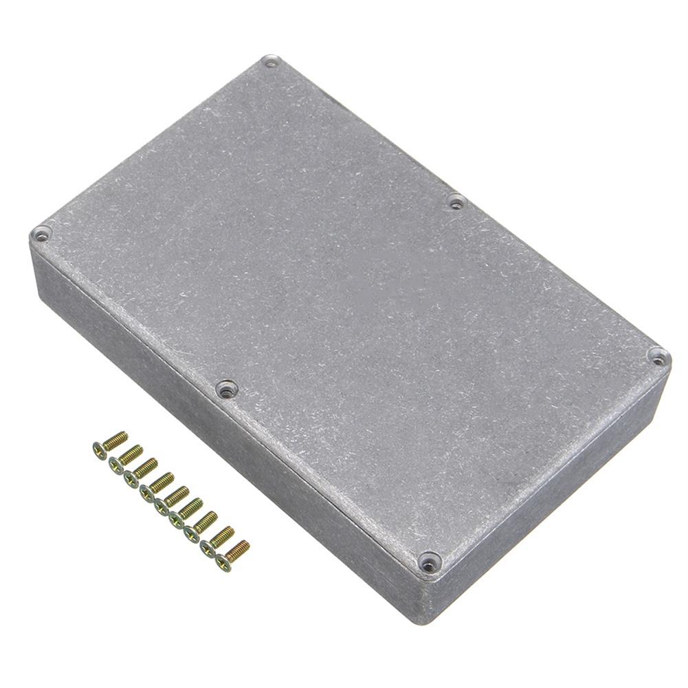 guitar-accessories 1590DD Diecast Aluminium Stomp Case Enclosure for DIY Guitar Effect Pedal HOB1319934 1