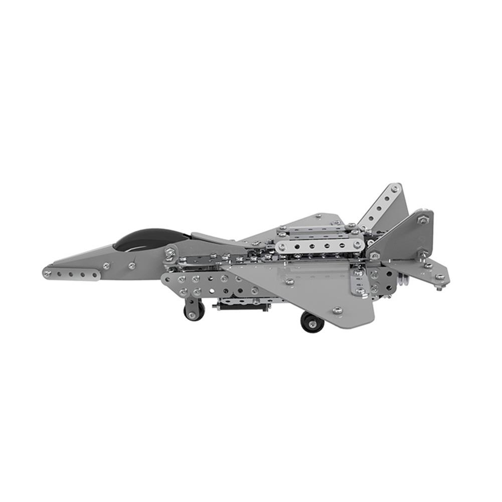 model-building MoFun 3D Metal Puzzle Model Building Stainless Micro Steel World Plane Fighter Toy HOB1324686