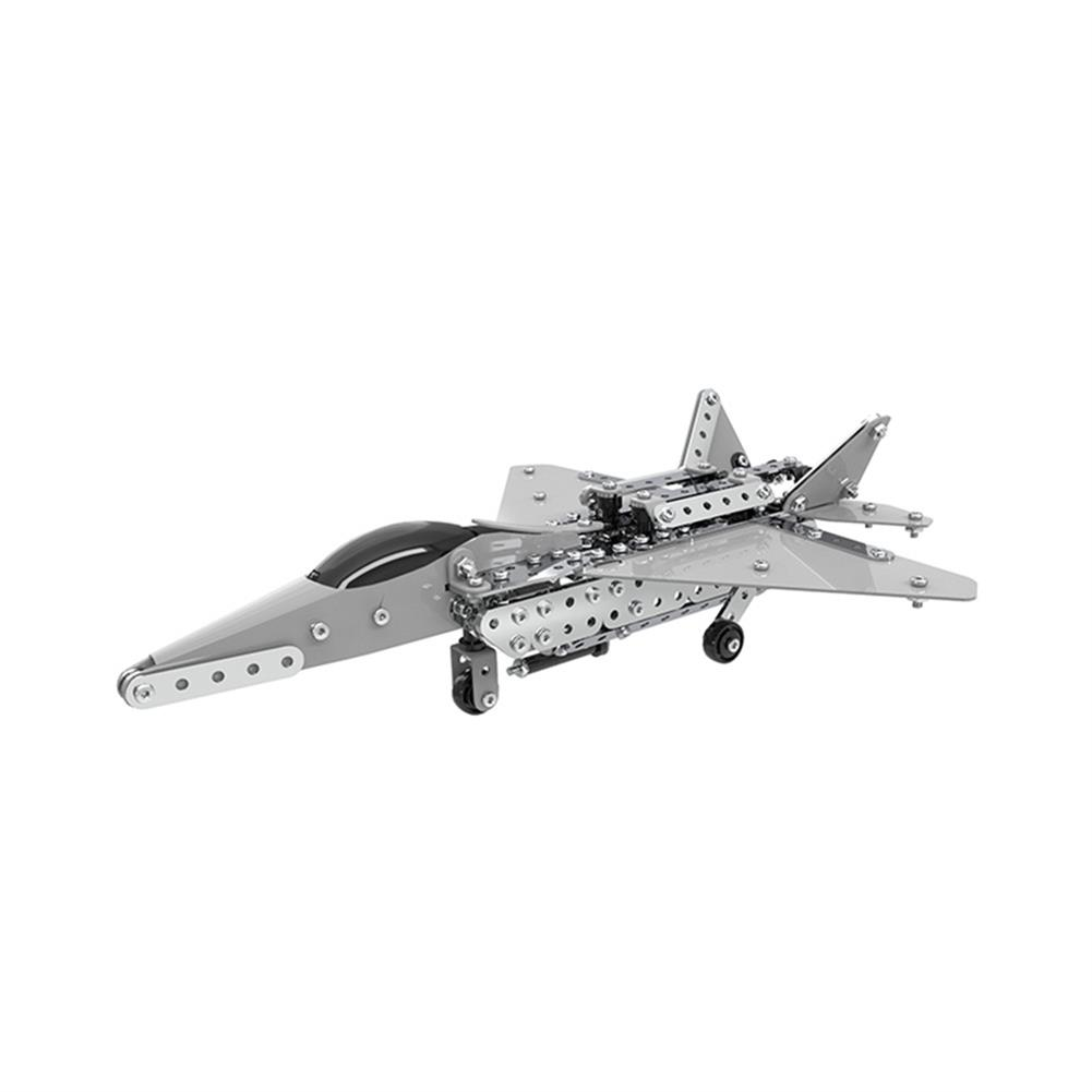 model-building MoFun 3D Metal Puzzle Model Building Stainless Micro Steel World Plane Fighter Toy HOB1324686 1