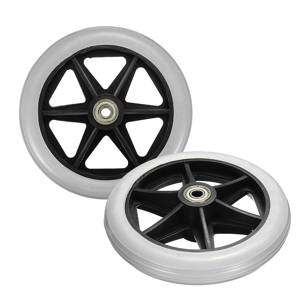 magnetic-toys 150x35mm Front Rear Wheels Replacement Parts for Cardinal Rollator Walker C46 HOB1325242