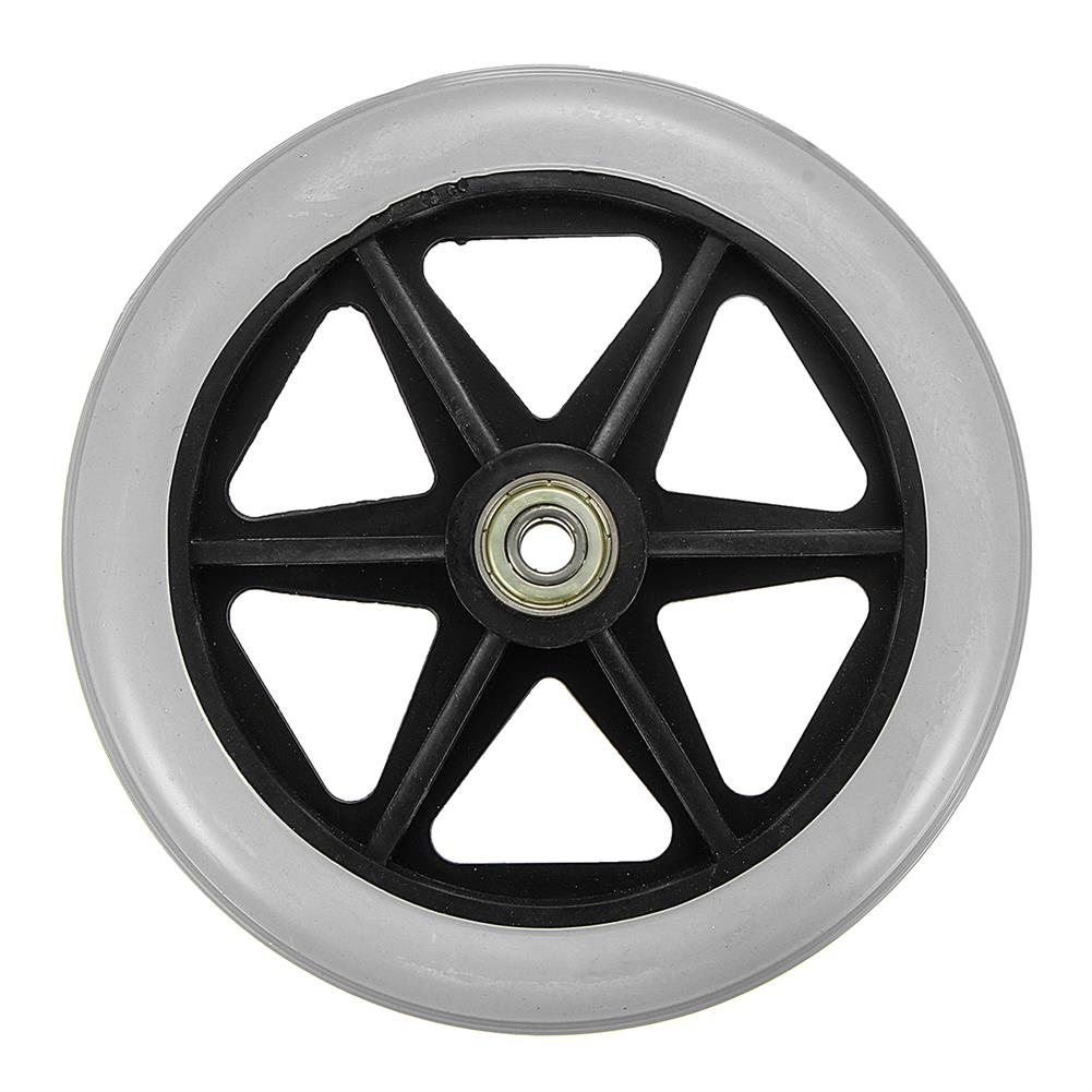 magnetic-toys 150x35mm Front Rear Wheels Replacement Parts for Cardinal Rollator Walker C46 HOB1325242 1