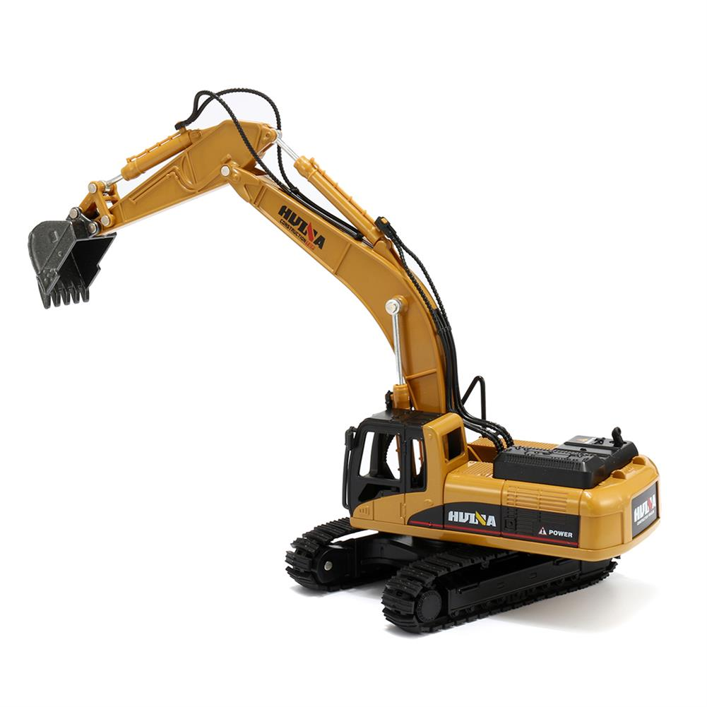 diecasts-model-toys 1:50 Alloy Excavator Toys Engineering Vehicle Diecast Model Metal Castings Vehicles HOB1327403 1