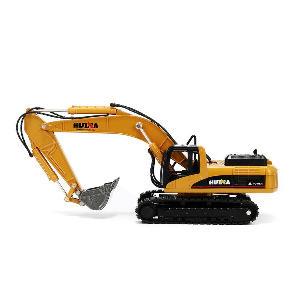 diecasts-model-toys 1:50 Alloy Excavator Toys Engineering Vehicle Diecast Model Metal Castings Vehicles HOB1327403 2
