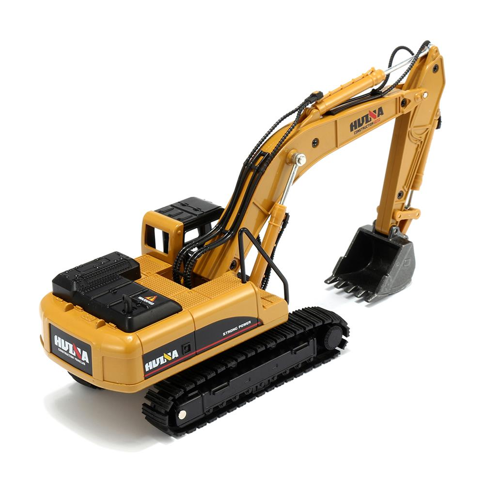 diecasts-model-toys 1:50 Alloy Excavator Toys Engineering Vehicle Diecast Model Metal Castings Vehicles HOB1327403 3