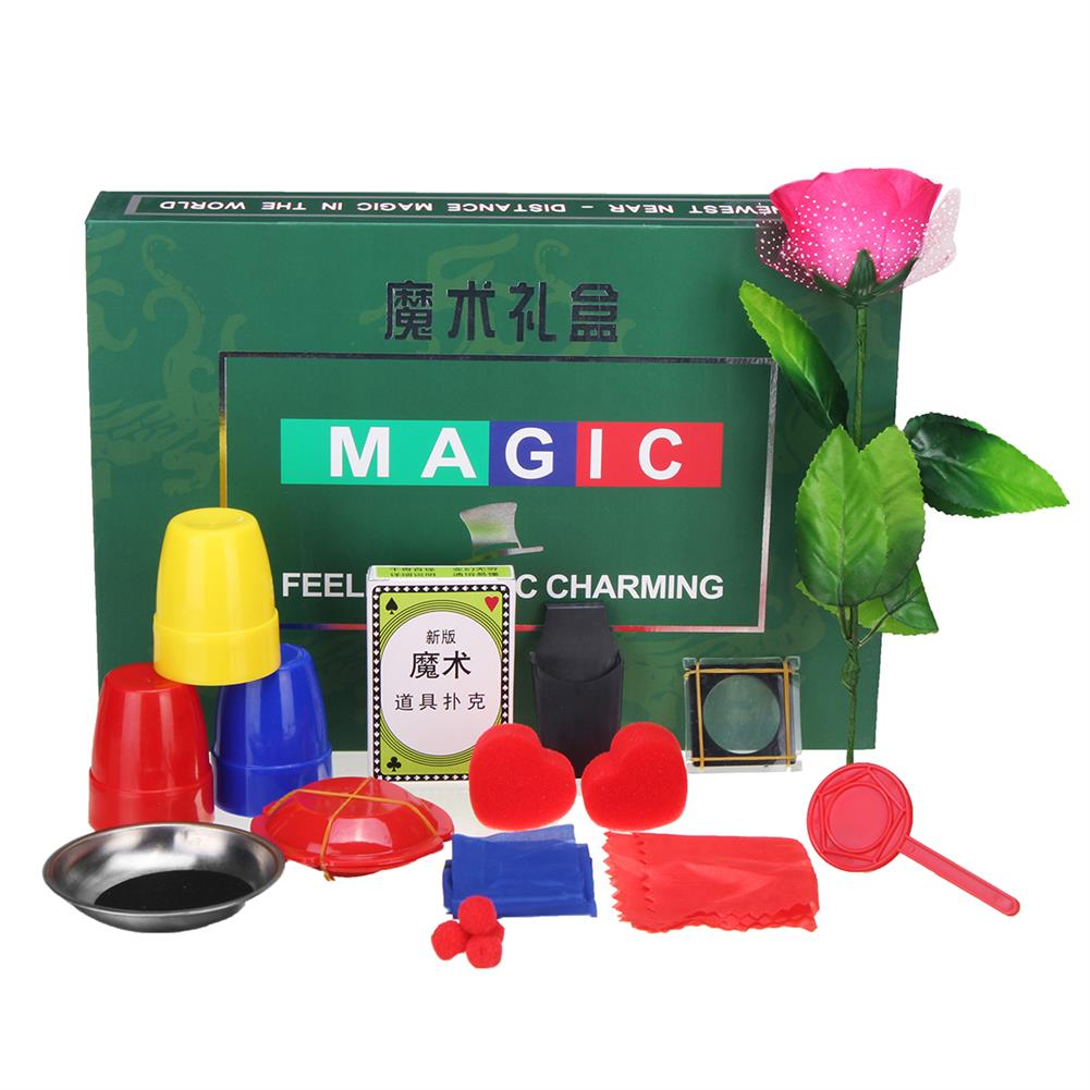 gags-practical-jokes 8 Kinds Trick Sets Magic Play with DVD Teaching Professional Magic Tricks Stage Close Up Magic Toys HOB1329701 1