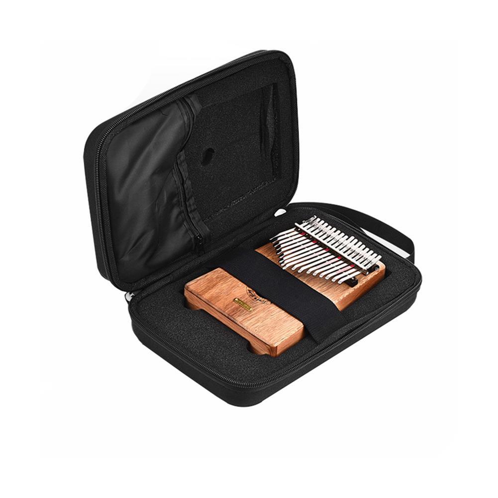 keyboard-accessories 10 Keys 17 Keys Kalimba Case Thumb Piano Mbira Portable Box Bag HOB1334219