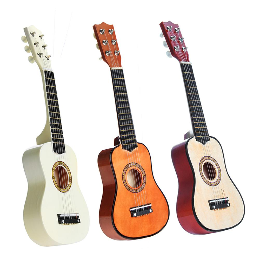 acoustic-guitars 21 inch 6 Strings Basswood Acoustic Classic Guitar for Kids Children Gift Mini Musical instrument HOB1335179