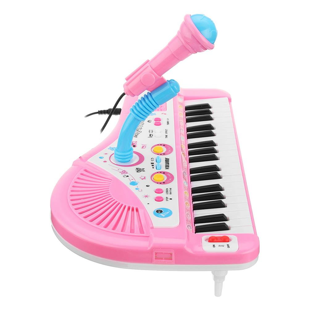 orff-instruments 37 Keyboard Mini Electronic Multifunctional Piano with Microphone Educational Toy Piano for Kids HOB1335185 1