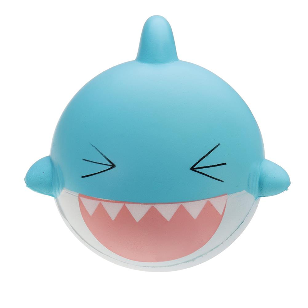 squishy-toys SquishyFun Shark Squishy 15cm Jumbo Licensed Slow Rising Soft with Packaging Collection Gift HOB1337319 1