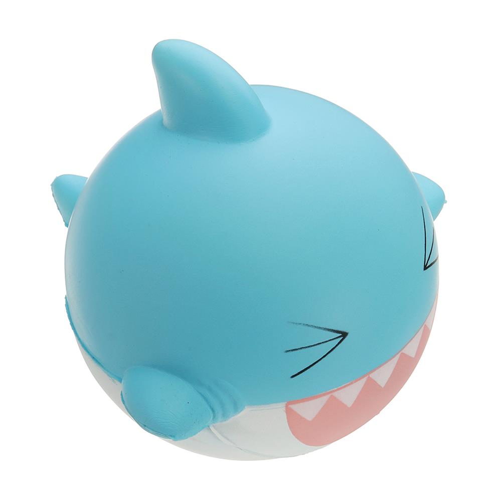 squishy-toys SquishyFun Shark Squishy 15cm Jumbo Licensed Slow Rising Soft with Packaging Collection Gift HOB1337319 3