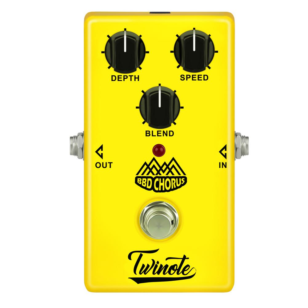 guitar-accessories Twinote Analog Chorus Guitar Effect Pedal Chorus effects Pedal Low Noise BBD circuitry True Bypass HOB1338484