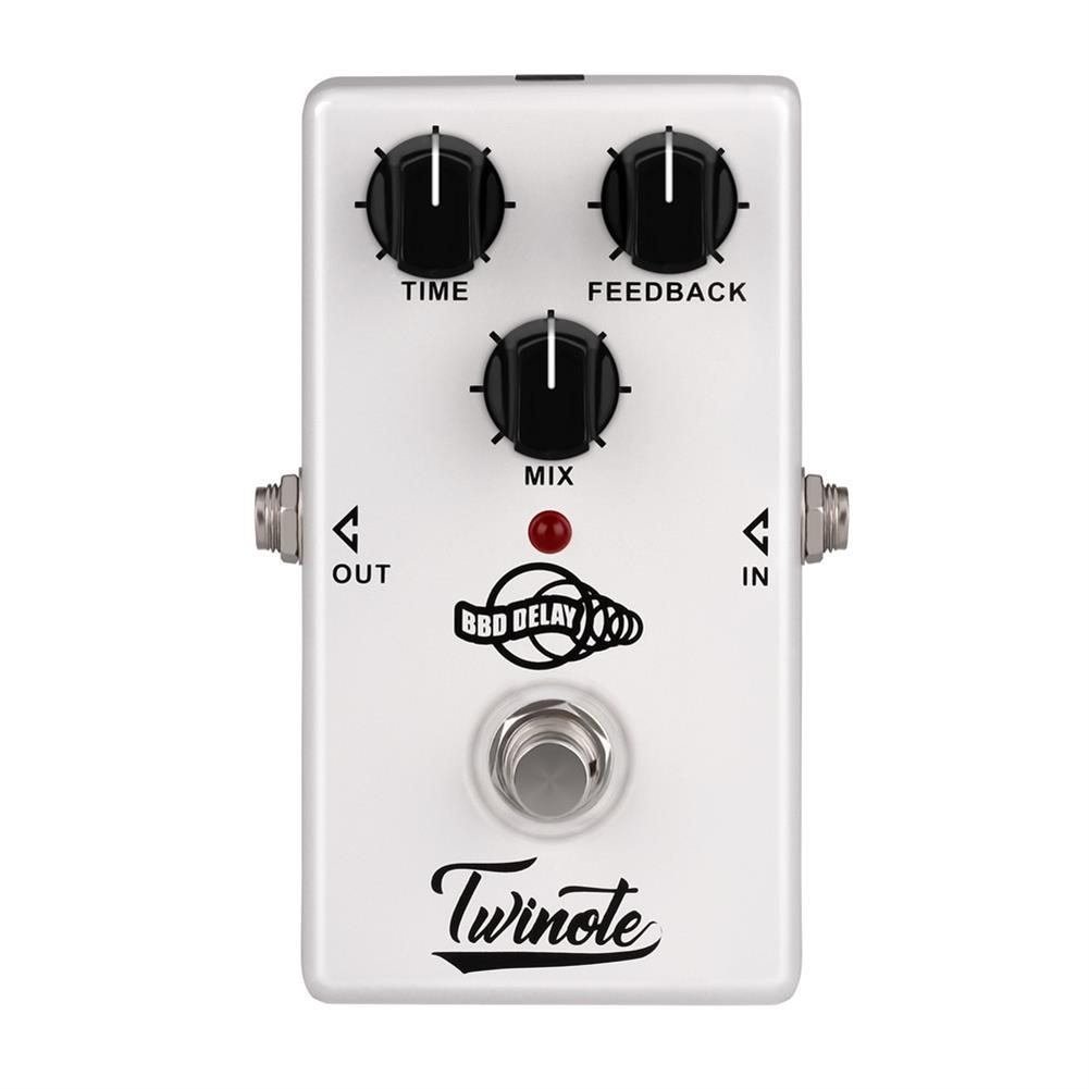 guitar-accessories Twinote BBD Analog Delay Guitar Effects Pedal Low Noise Circuit 300ms Delay time Warm and Smooth Coupon 9db38e HOB1338485