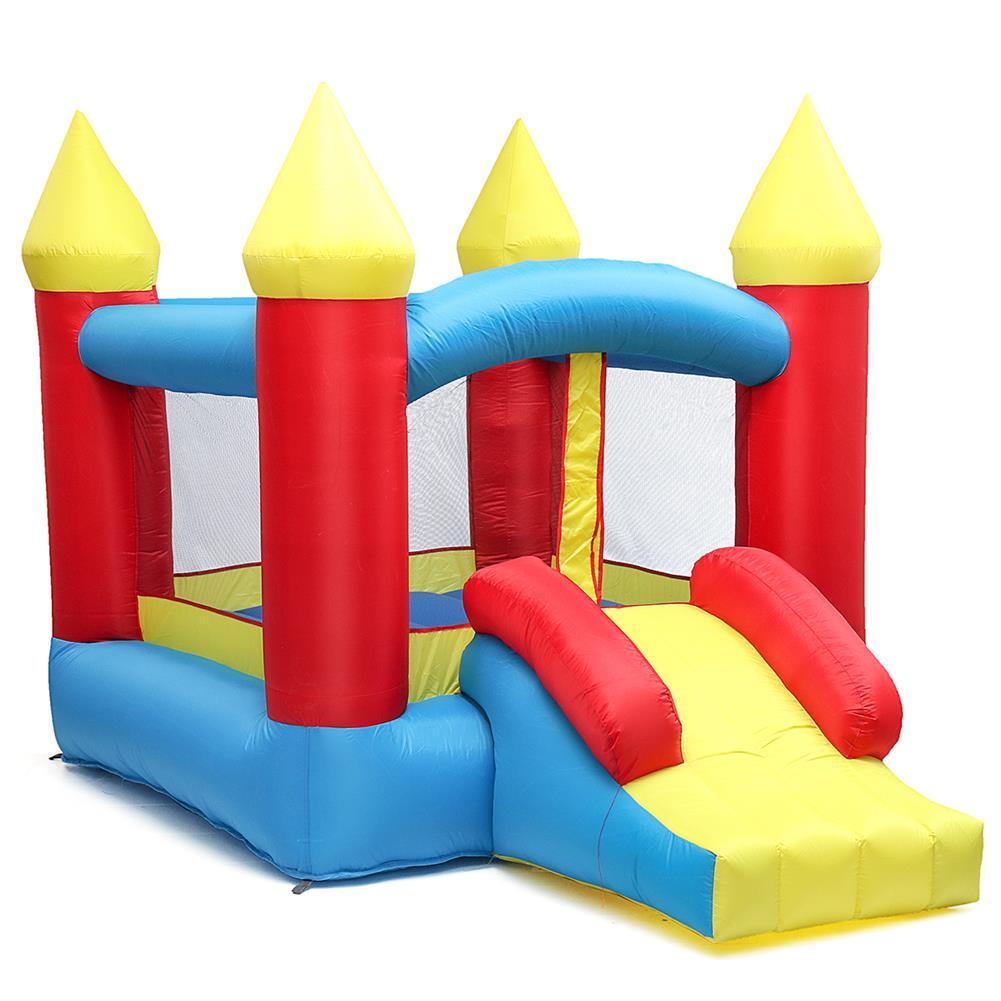 inflatable-toys 280*195*185cm 84'' inflatable Toys Air Bouncer Moonwalk Slide Bouncer House Jumper Kids Play Center HOB1338966