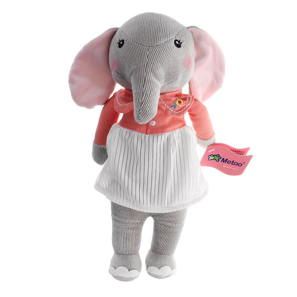 stuffed-plush-toys 12.5 inch Metoo Elephant Doll Plush Sweet Lovely Kawaii Stuffed Baby Toy for Girls Birthday HOB1345307 1