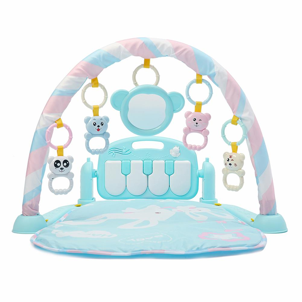 orff-instruments 3-in-1 Cute Rainforest Musical Lullaby Bassinet Baby Activity Playmat Gym Toy Play Mat HOB1351427