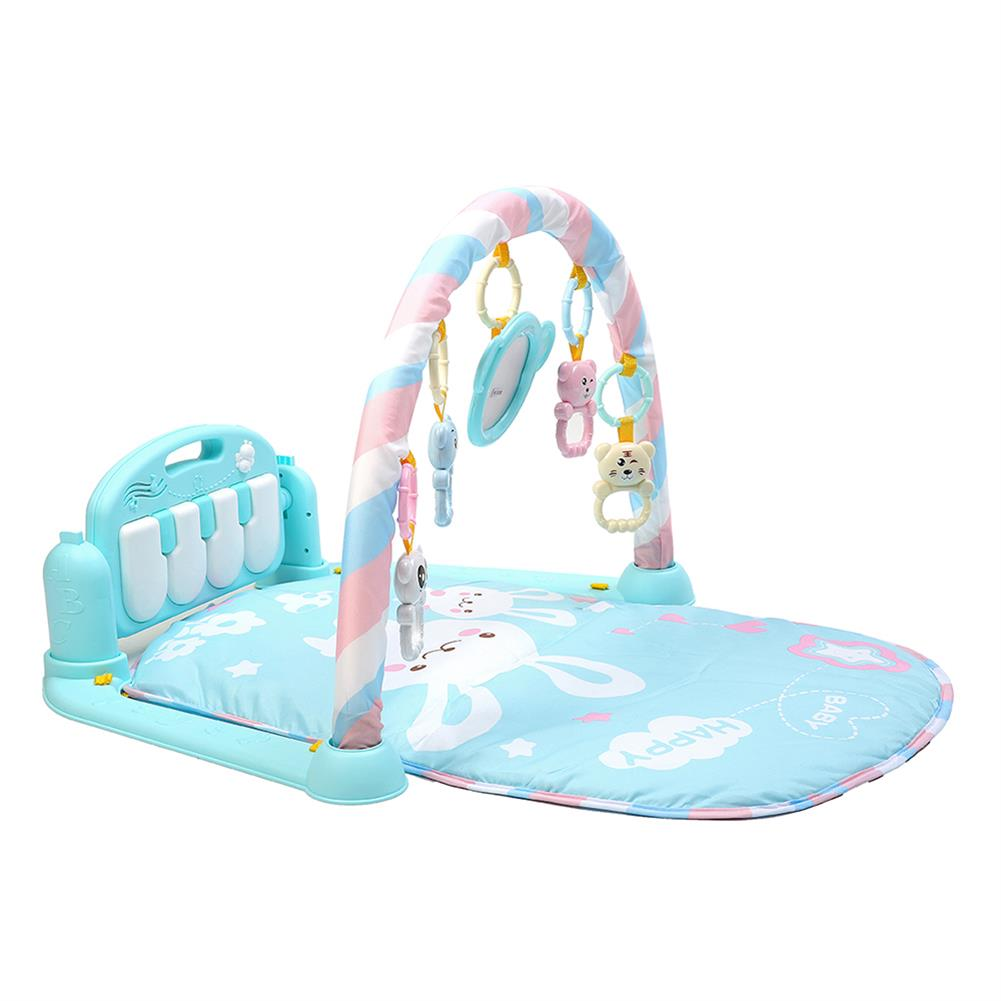 orff-instruments 3-in-1 Cute Rainforest Musical Lullaby Bassinet Baby Activity Playmat Gym Toy Play Mat HOB1351427 1