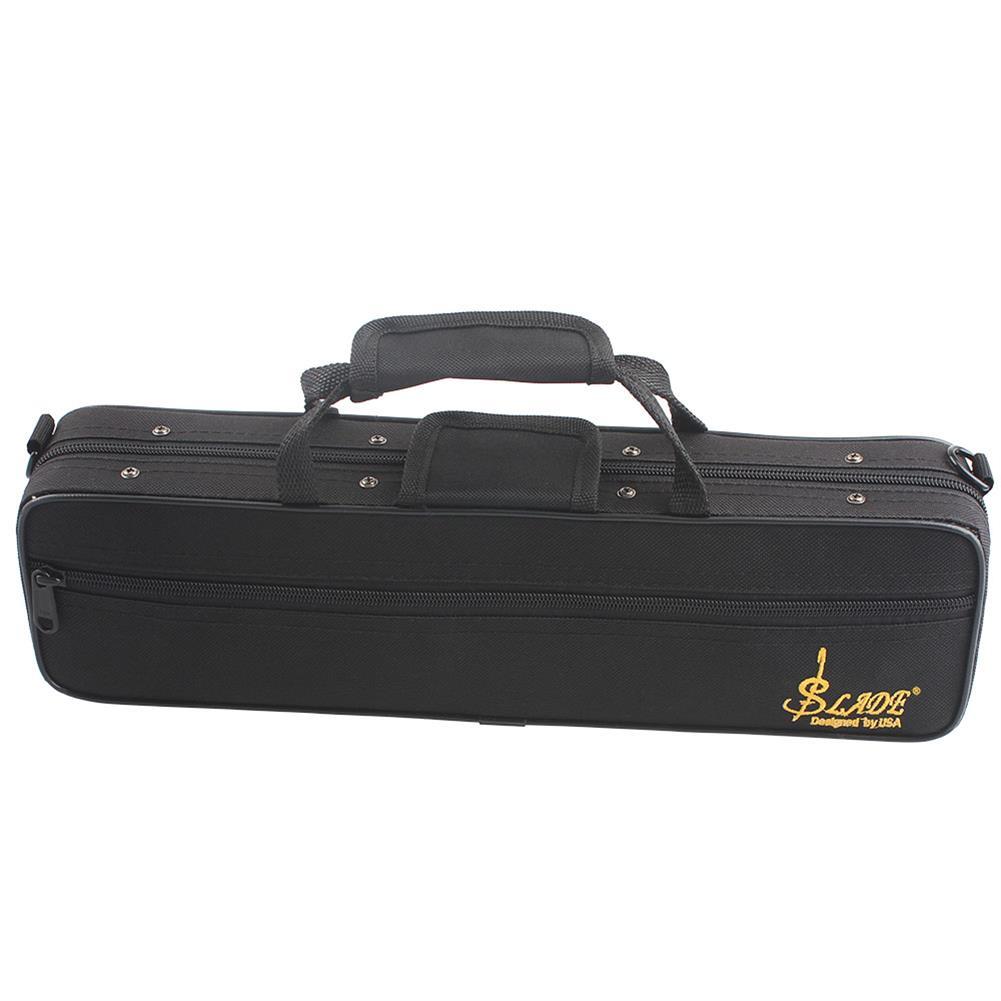woodwind-brass-accessories SLADE Portable Lightweight Flute Oxford Cloth Box Case Gig Bag with Adjustable Shoulder Strap Belt Coupon 9db3 HOB1351430