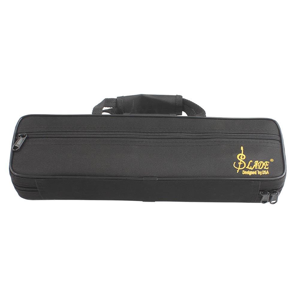 woodwind-brass-accessories SLADE Portable Lightweight Flute Oxford Cloth Box Case Gig Bag with Adjustable Shoulder Strap Belt Coupon 9db3 HOB1351430 1