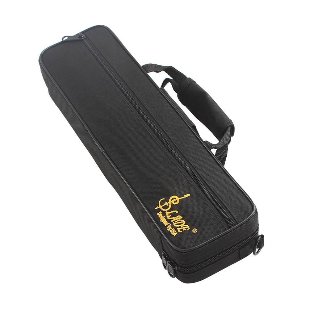 woodwind-brass-accessories SLADE Portable Lightweight Flute Oxford Cloth Box Case Gig Bag with Adjustable Shoulder Strap Belt Coupon 9db3 HOB1351430 2