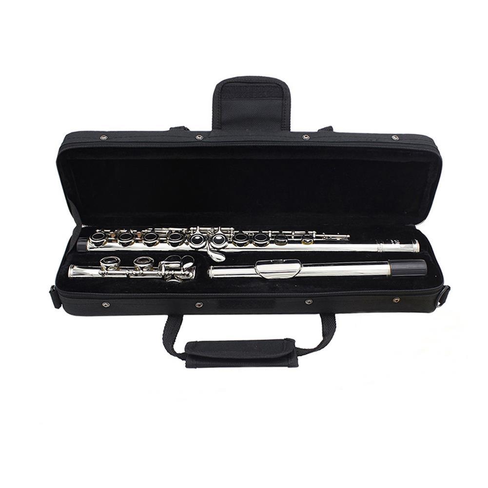 woodwind-brass-accessories SLADE Portable Lightweight Flute Oxford Cloth Box Case Gig Bag with Adjustable Shoulder Strap Belt Coupon 9db3 HOB1351430 3