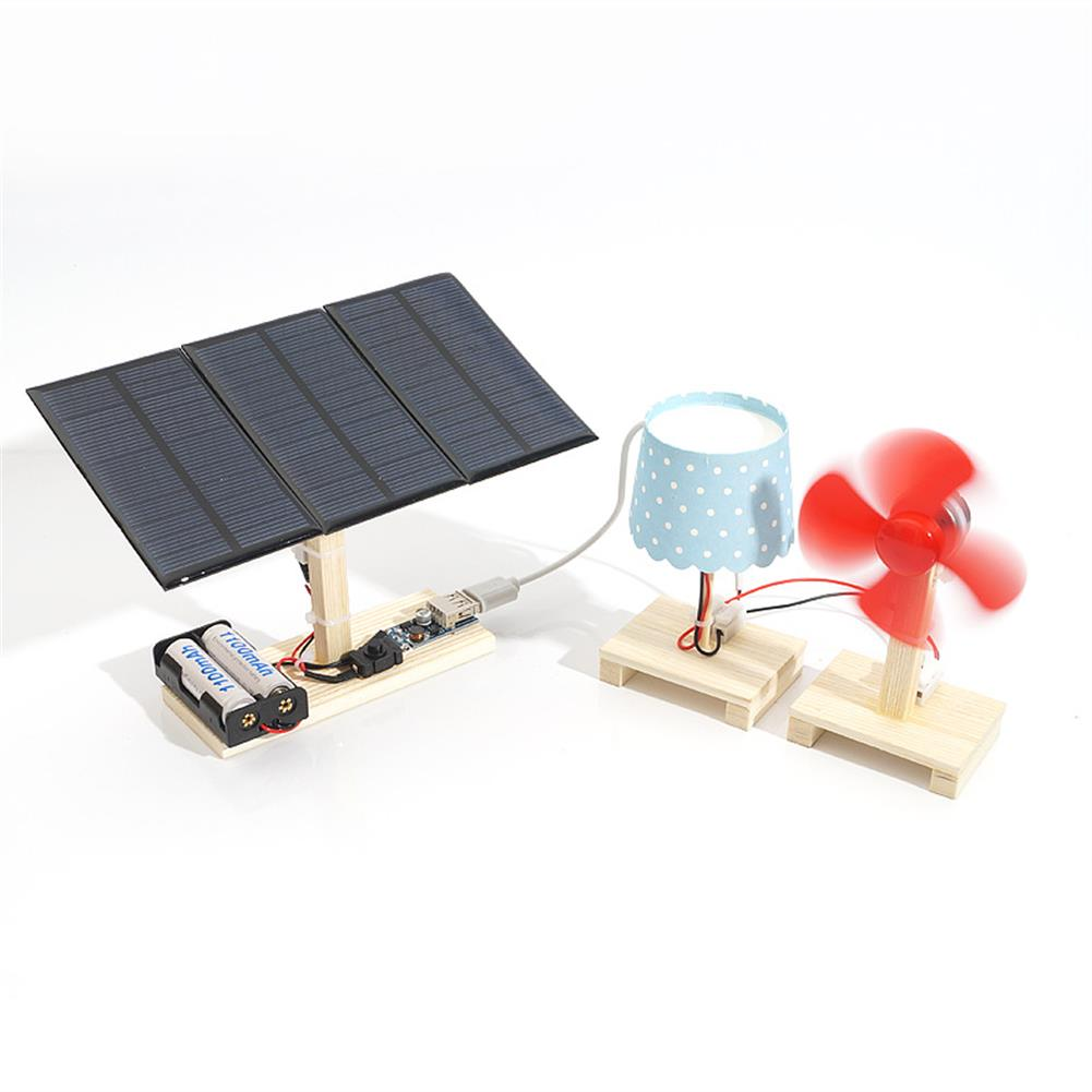 solar-powered-toys Solar Powered System Mini Power Stations with Lamp And Fan HOB1352564