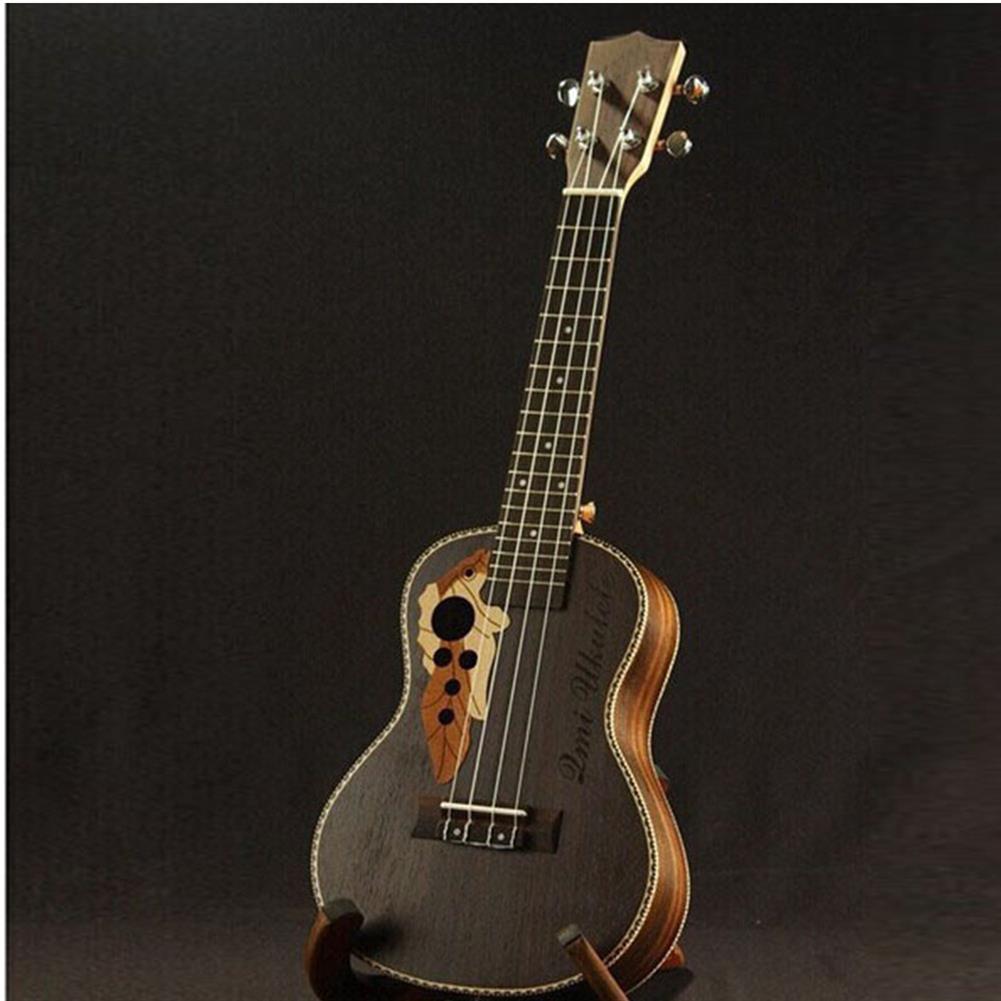 ukulele 21 inch 4 Strings Rosewood Ukulele Guitar with Grape Shape Holes HOB1353767 1
