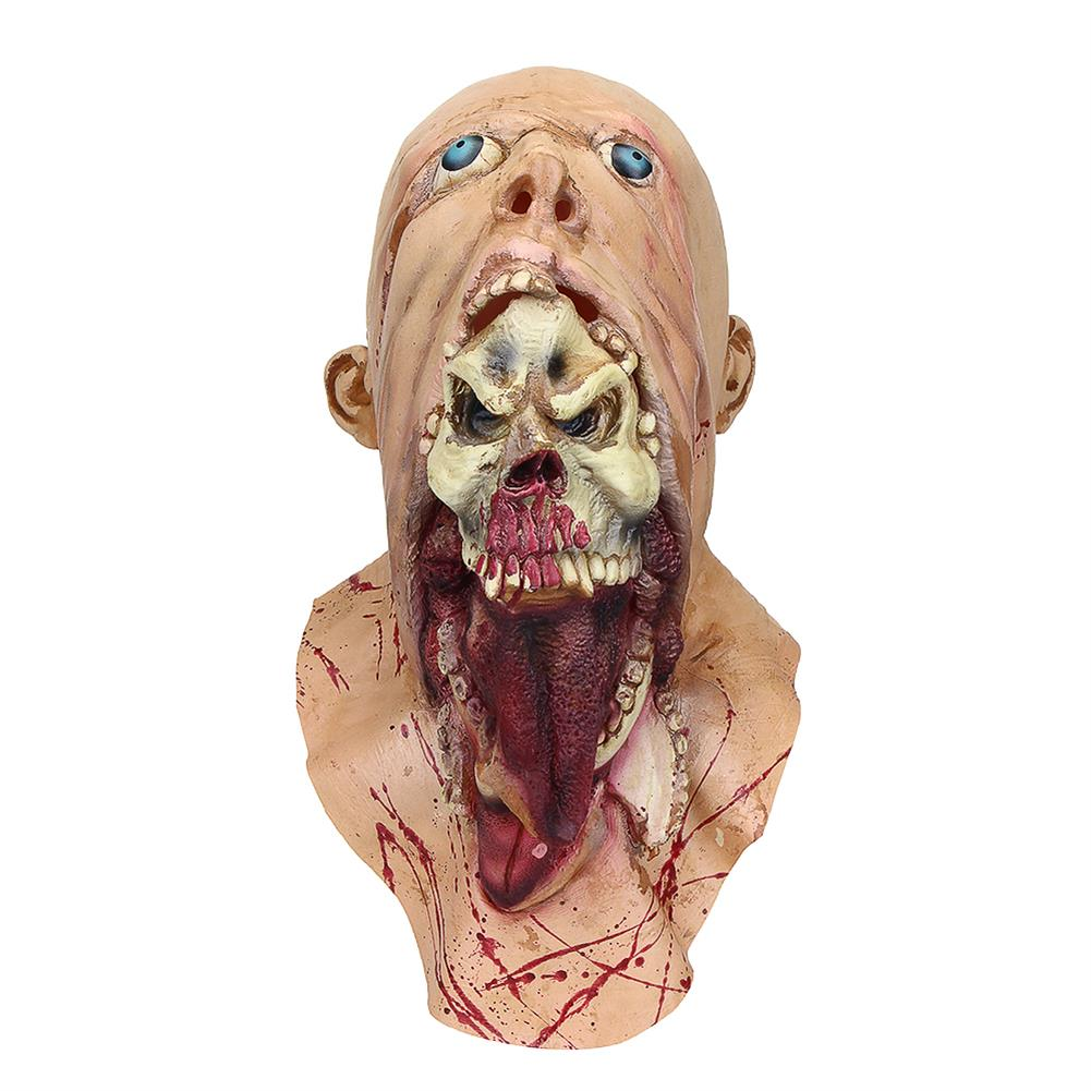 mask-costumes Halloween Party Home Decoration Toys Horror Rotten Bloody Mask Props Toys Supply for Kids Gift HOB1357522