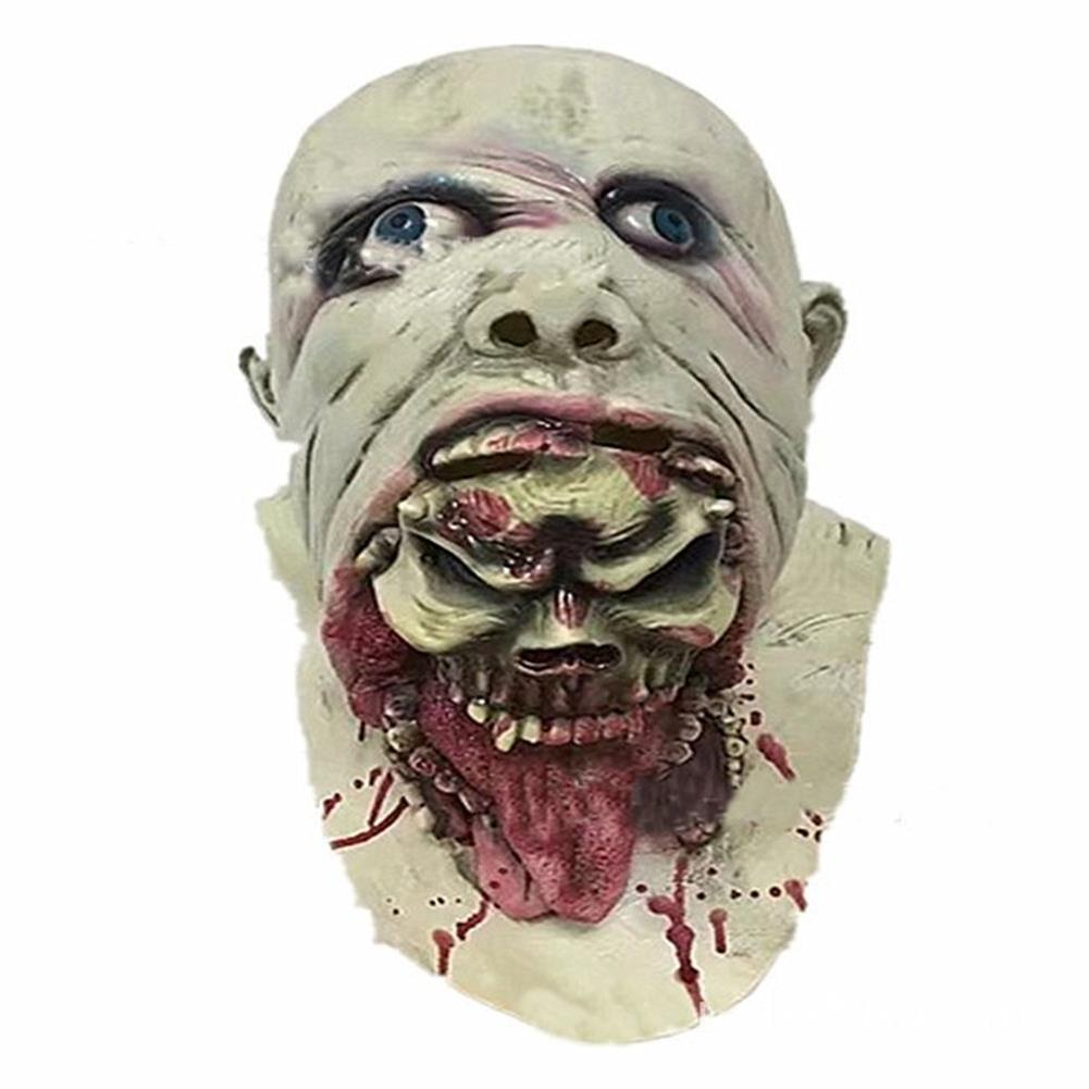 mask-costumes Halloween Party Home Decoration Toys Horror Rotten Bloody Mask Props Toys Supply for Kids Gift HOB1357522 1