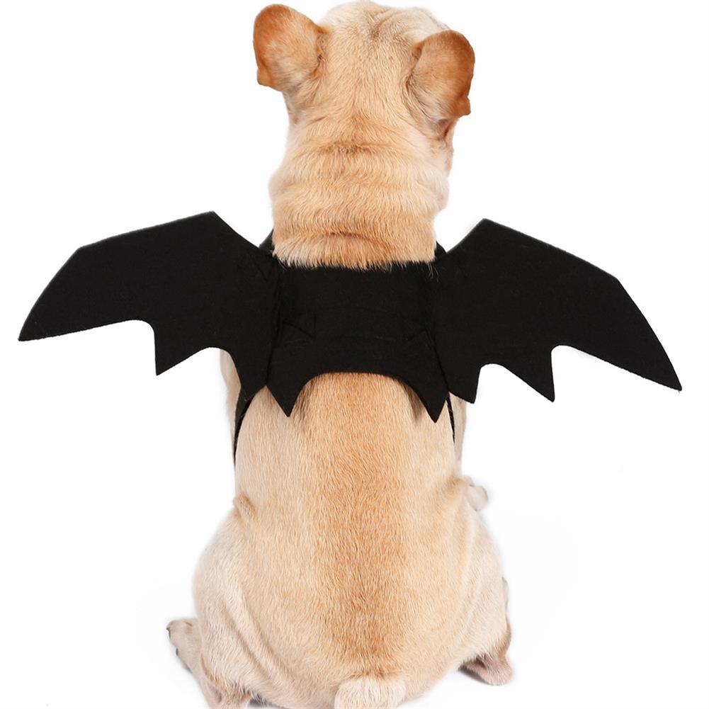 decoration Halloween Black Bat Wings Cute Party Decoration Toys HOB1358168 2