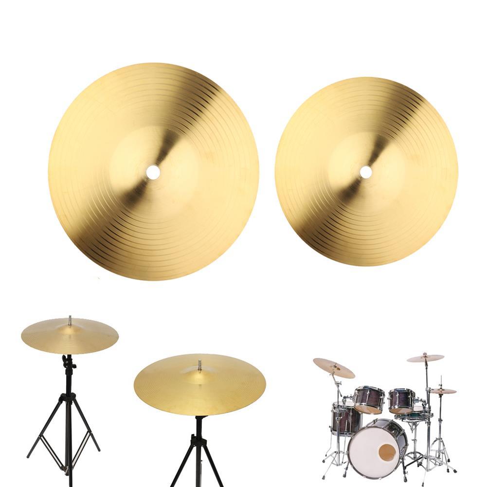 percussion-accessories 8/10 inch Copper Alloy Crash Cymbal Drum Set HOB1358731