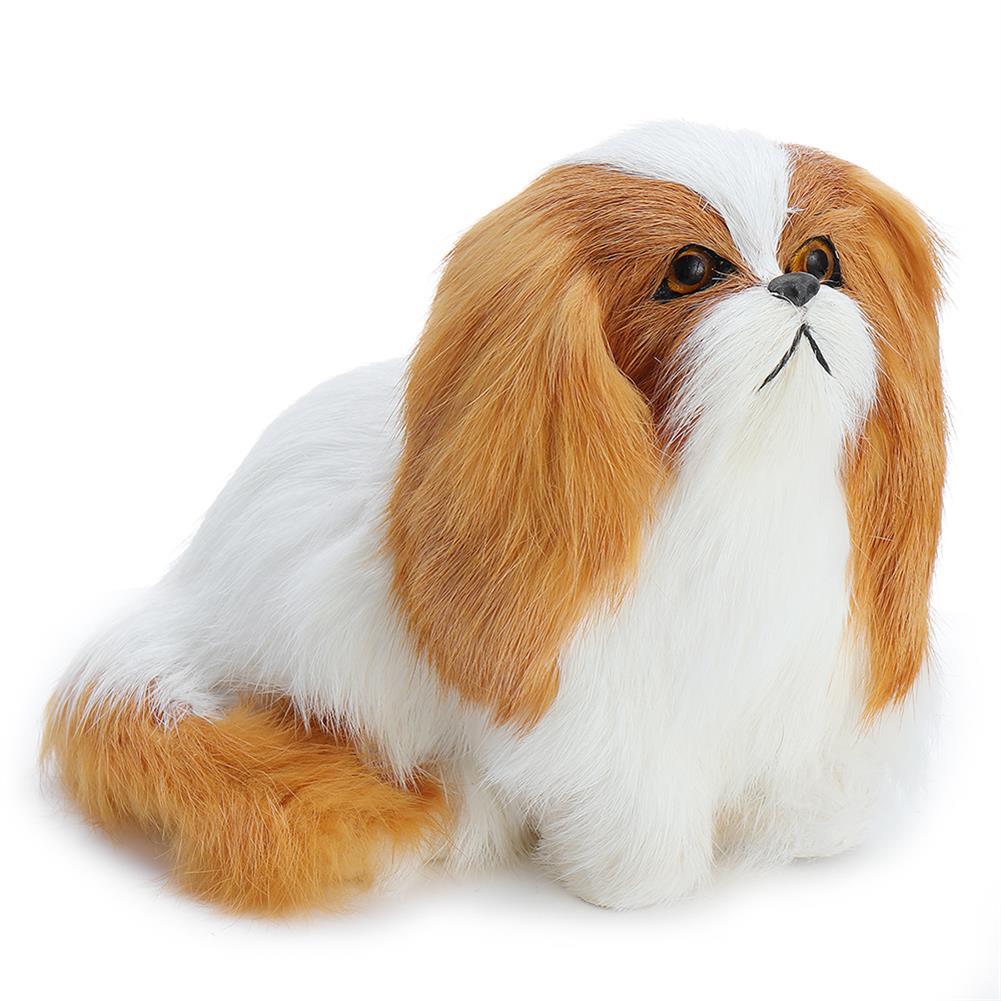 stuffed-plush-toys Cute Puppy Lifelike Simulation Dog Stuffed Plush Toy Realistic Home Desk Decoration HOB1359380