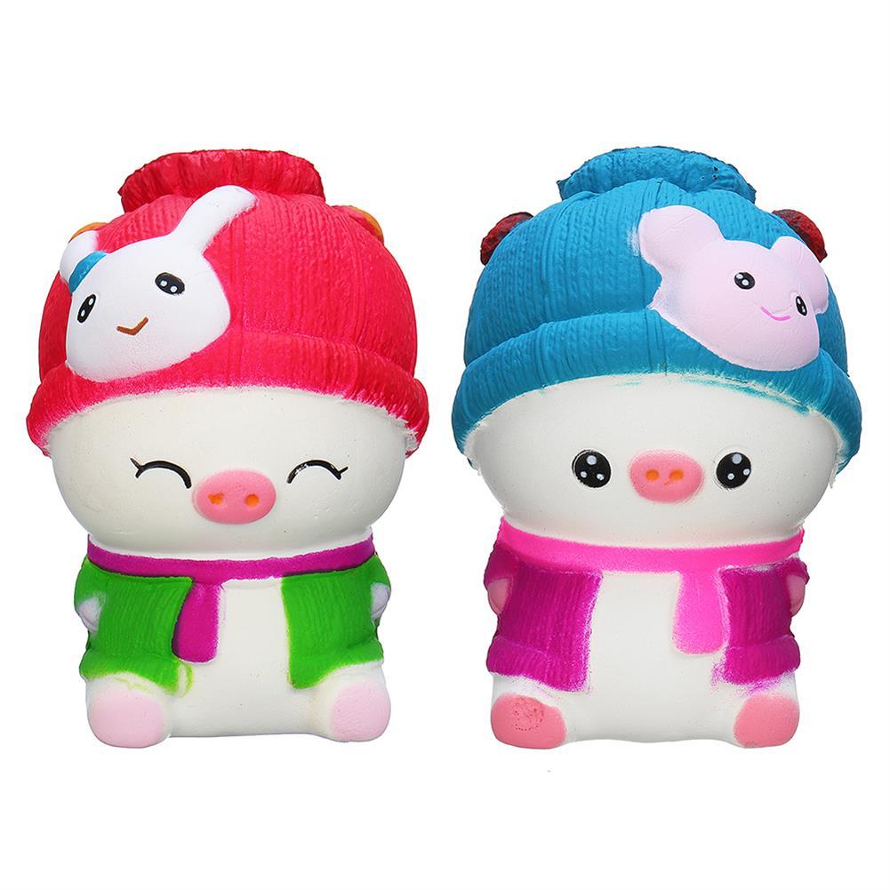 squishy-toys 11.5*8*6CM Squishy Baby Pig Slow Rising Toy Toy Gift Phone Bag Pendant HOB1361937