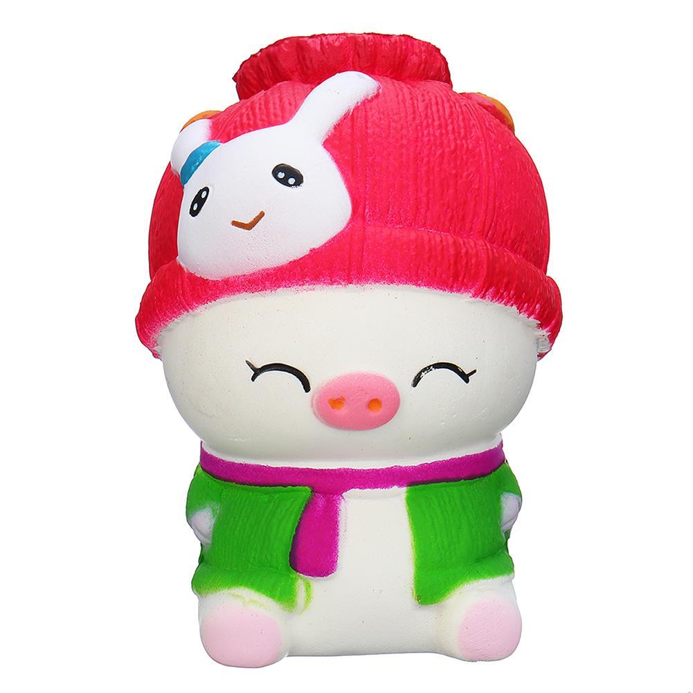 squishy-toys 11.5*8*6CM Squishy Baby Pig Slow Rising Toy Toy Gift Phone Bag Pendant HOB1361937 1