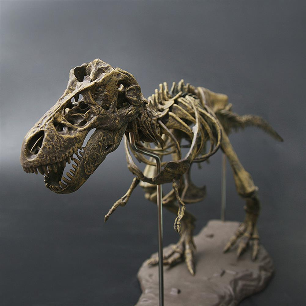puzzle-game-toys Jurassic Dinosaurs Tyrannosaurus Rex Skeleton Trex Animal Model Kids Toys Gift HOB1367517 1