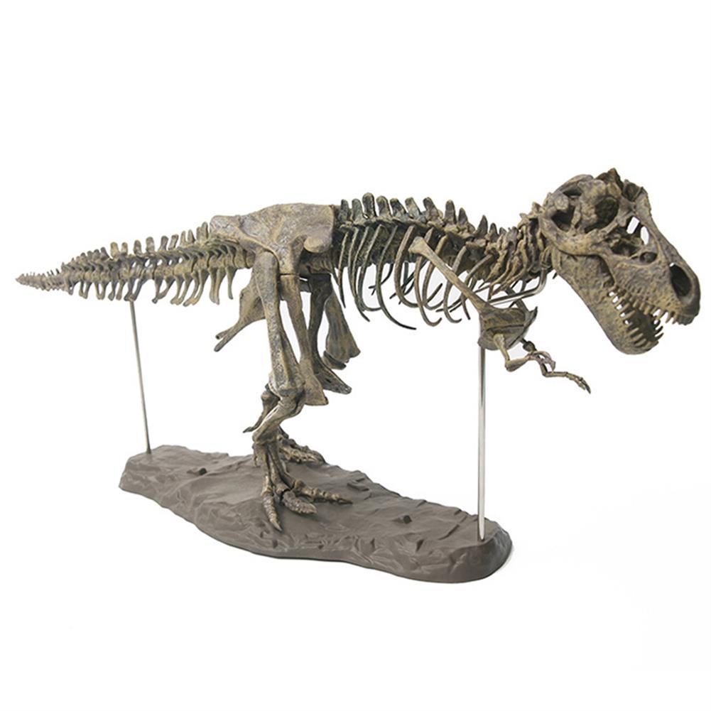 puzzle-game-toys Jurassic Dinosaurs Tyrannosaurus Rex Skeleton Trex Animal Model Kids Toys Gift HOB1367517 2