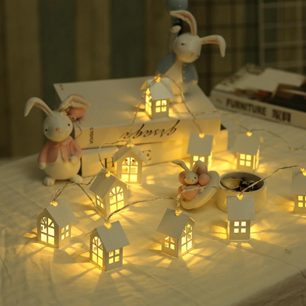decoration 1Pc Christmas Tree Pendant Led Light Wooden Night Lamps for Christmas Tree Decoration Xmas HOB1374319 1