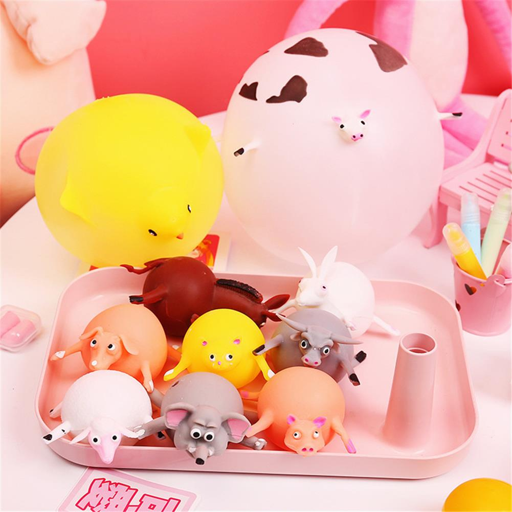 inflatable-toys Animal Balloon Squeeze inflatable Toys Funny Stress Reliever Squishy HOB1374841