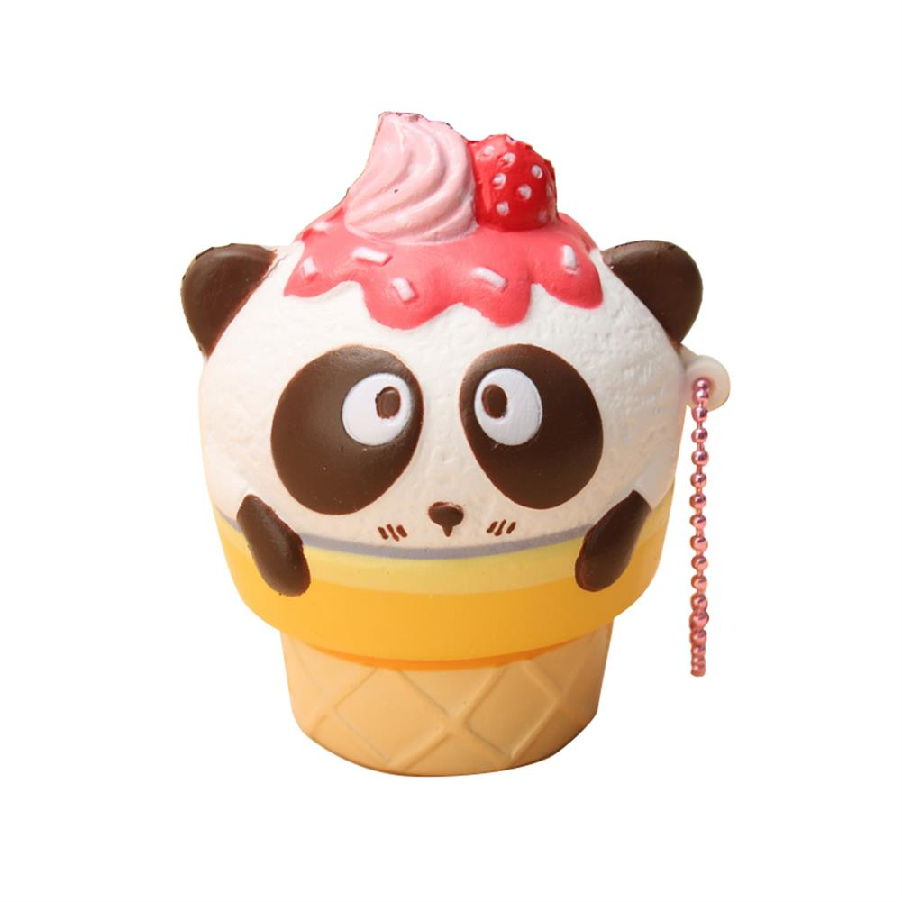 squishy-toys 10PCS Wholesale SquishyFun Cute Panda Cream Super Slow Rising Squishy Original Packing Ball Chain Kid Toy HOB1377741 1