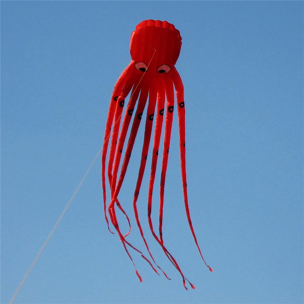 plane-parachute-toys 35inches Octopus Kite Outdoor Sports Toys for Kids Single Line Parachute Toys HOB1378526 1