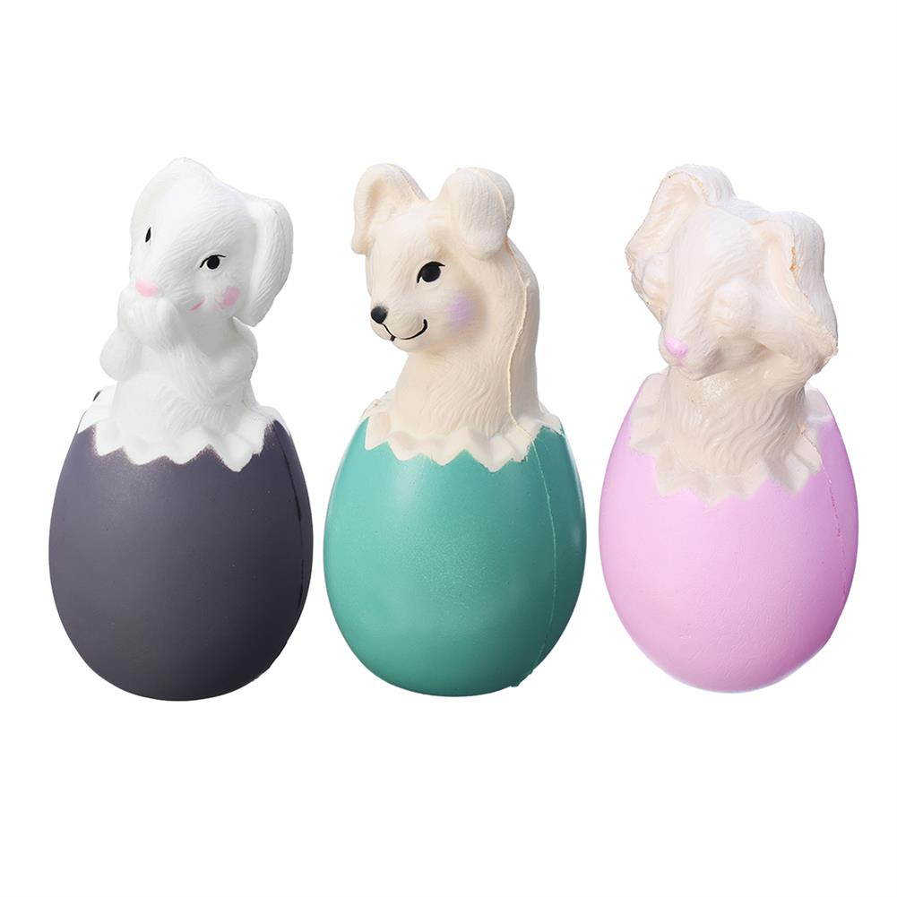 squishy-toys 13CM Squishy Rabbit Bunny Eggs with Fancy Bag Christmas Gift Squeeze Toy HOB1379246 1
