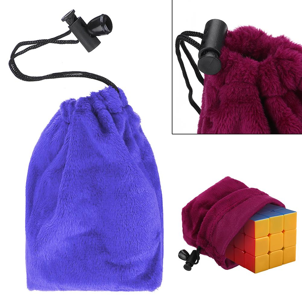puzzle-game-toys Magic Cube Game Puzzle Ball Storage Velvet Bag Drawstring Gift Pouch Toy Protect HOB1380572