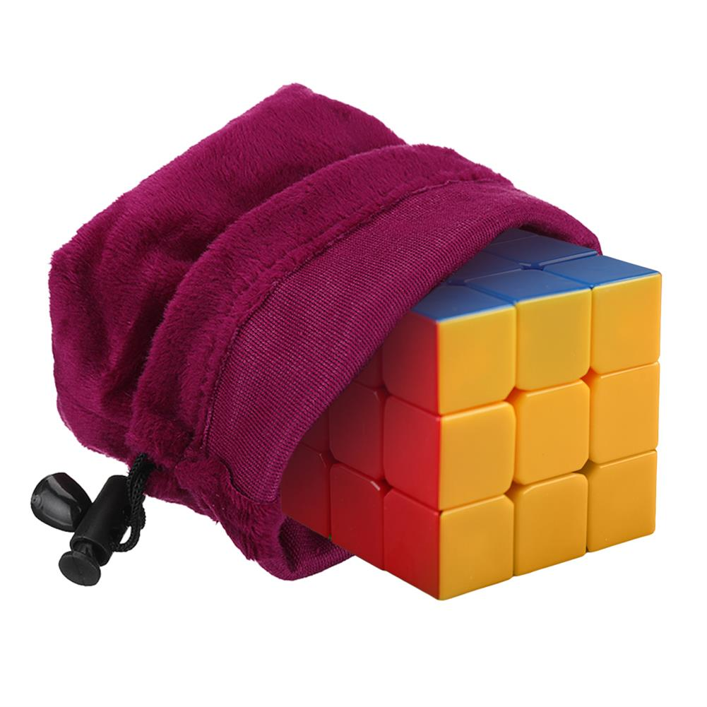 puzzle-game-toys Magic Cube Game Puzzle Ball Storage Velvet Bag Drawstring Gift Pouch Toy Protect HOB1380572 3