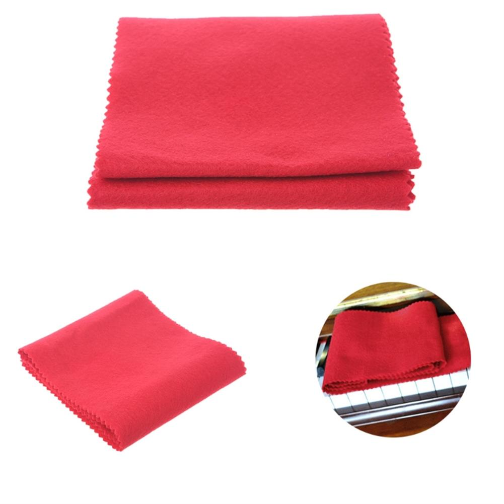keyboard-accessories Zebra Red Beige Piano Keyboard Dust Cover with Cotton Cloth Dust Cover HOB1385657