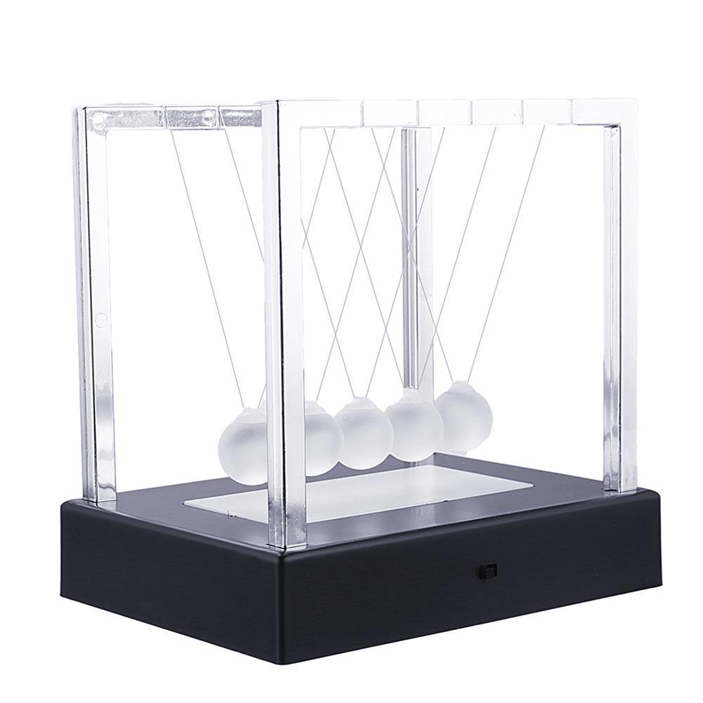 science-discovery-toys STEM Nightlight 15cm Upgrade Cradle Steel Balance Ball Physics Pendulum Toys HOB1386167 1