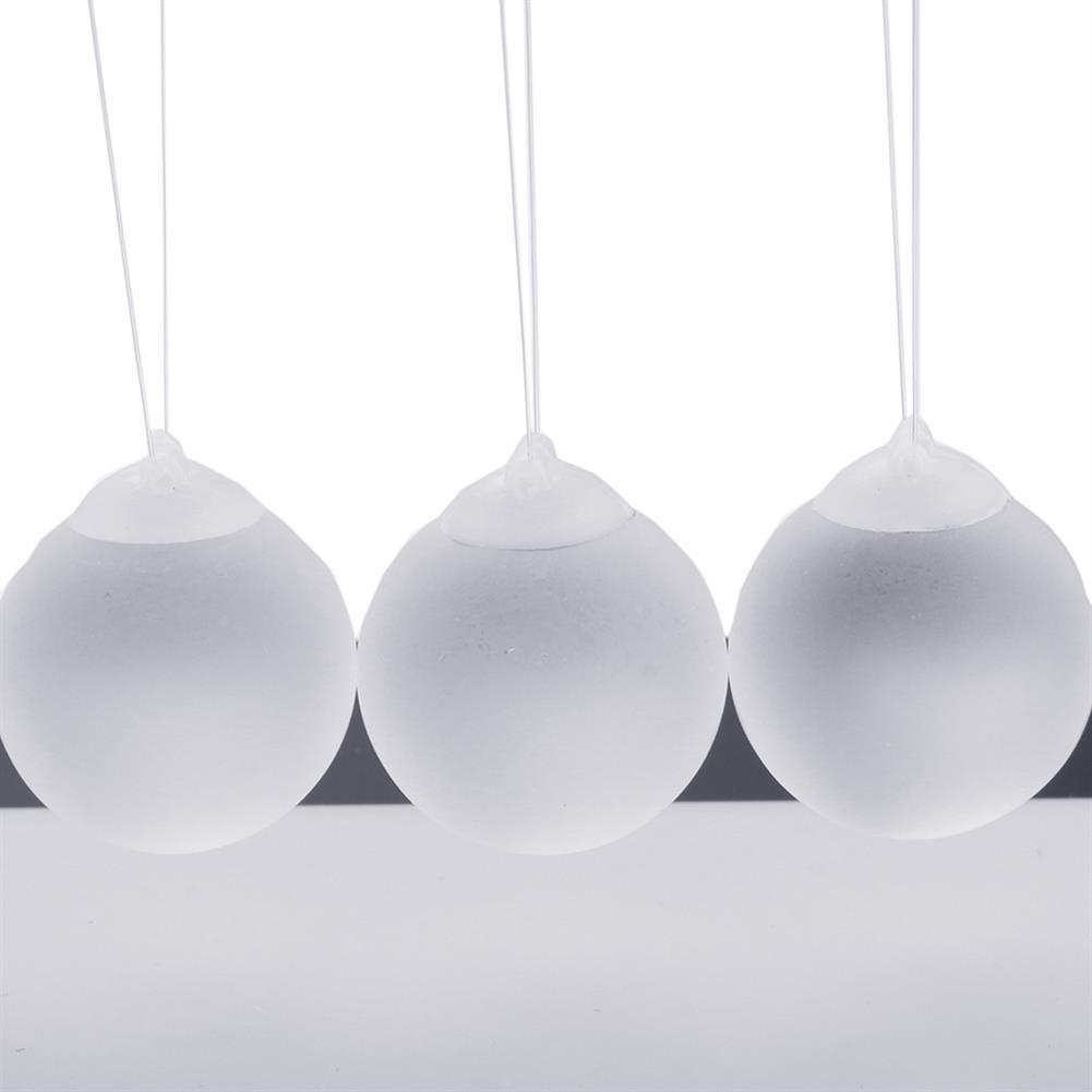 science-discovery-toys STEM Nightlight 15cm Upgrade Cradle Steel Balance Ball Physics Pendulum Toys HOB1386167 3
