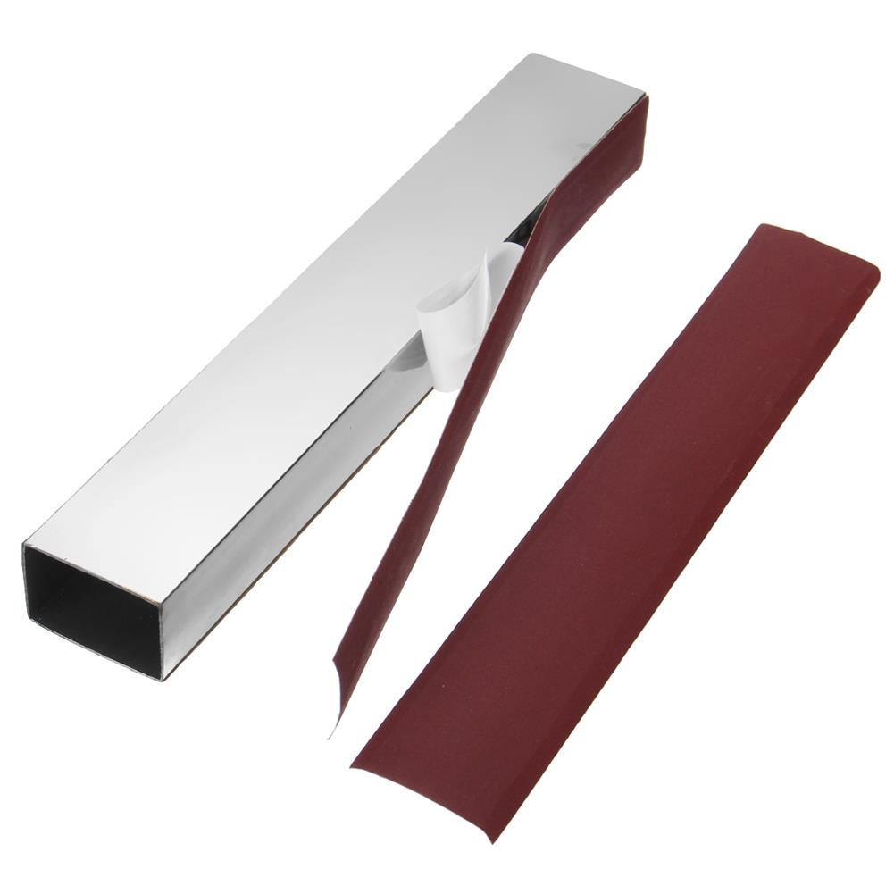 guitar-accessories 10 inch Guitar Bass Fret Leveling File Aluminum Beam Luthier Tool with Sanding Paper HOB1396912 1