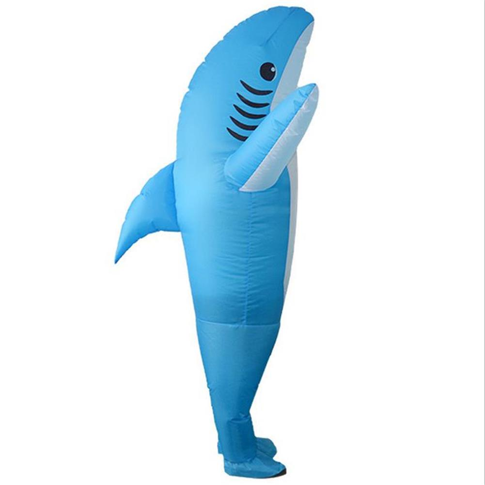 inflatable-toys inflatable Costumes Shark Adult Halloween Fancy Dress Funny Scary Dress Costume HOB1405496 1